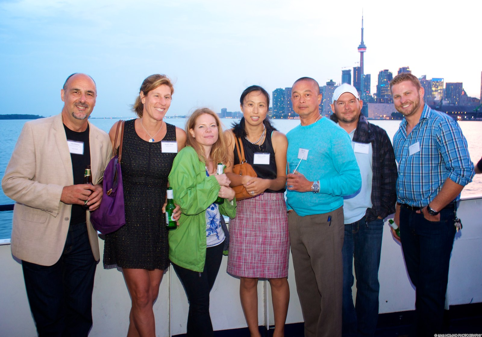 On September 11, 2013 Chapter Members and green building supporters set out to explore the revitalization project of Waterfront Toronto and watch the sun set aboard the Norther Spirit! This lively evening included a waterfront tour, dinner, great music, and an amazing view of Toronto's skyline. Pictures of the evening will be coming soon.